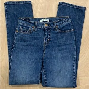 Levi's 512 Straight Women's Perfectly Slimming 8M